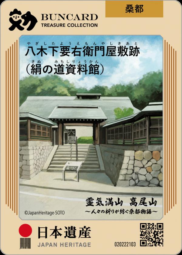 八木下要右衛門屋敷跡(絹の道資料館) | BUNCARD