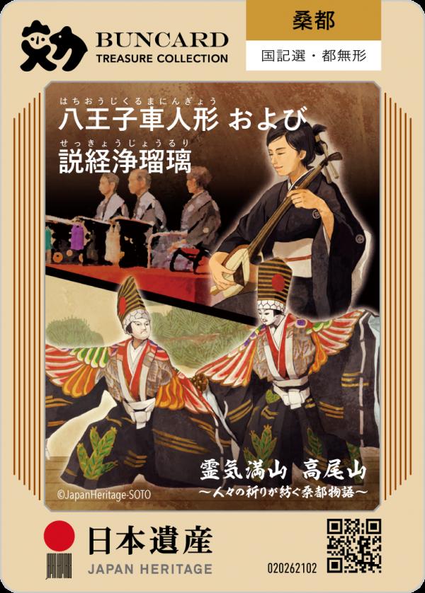 八王子車人形および説経浄瑠璃 | BUNCARD